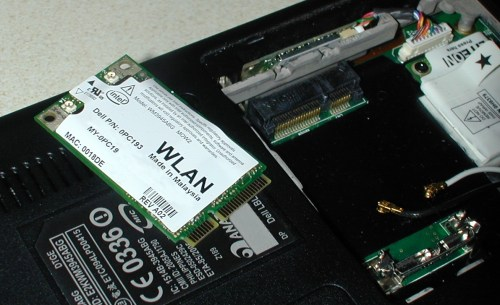 small resolution of a wlan pci express mini card and its connector