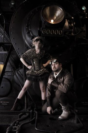 Steampunks by Kyle Cassidy (via Wikipedia)