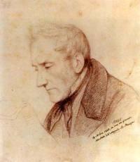 Alessandro Manzoni en l'honneur de qui Verdi composa le Requiem