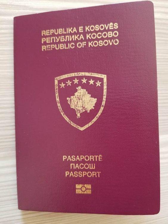 Kosovan Passport Wikipedia