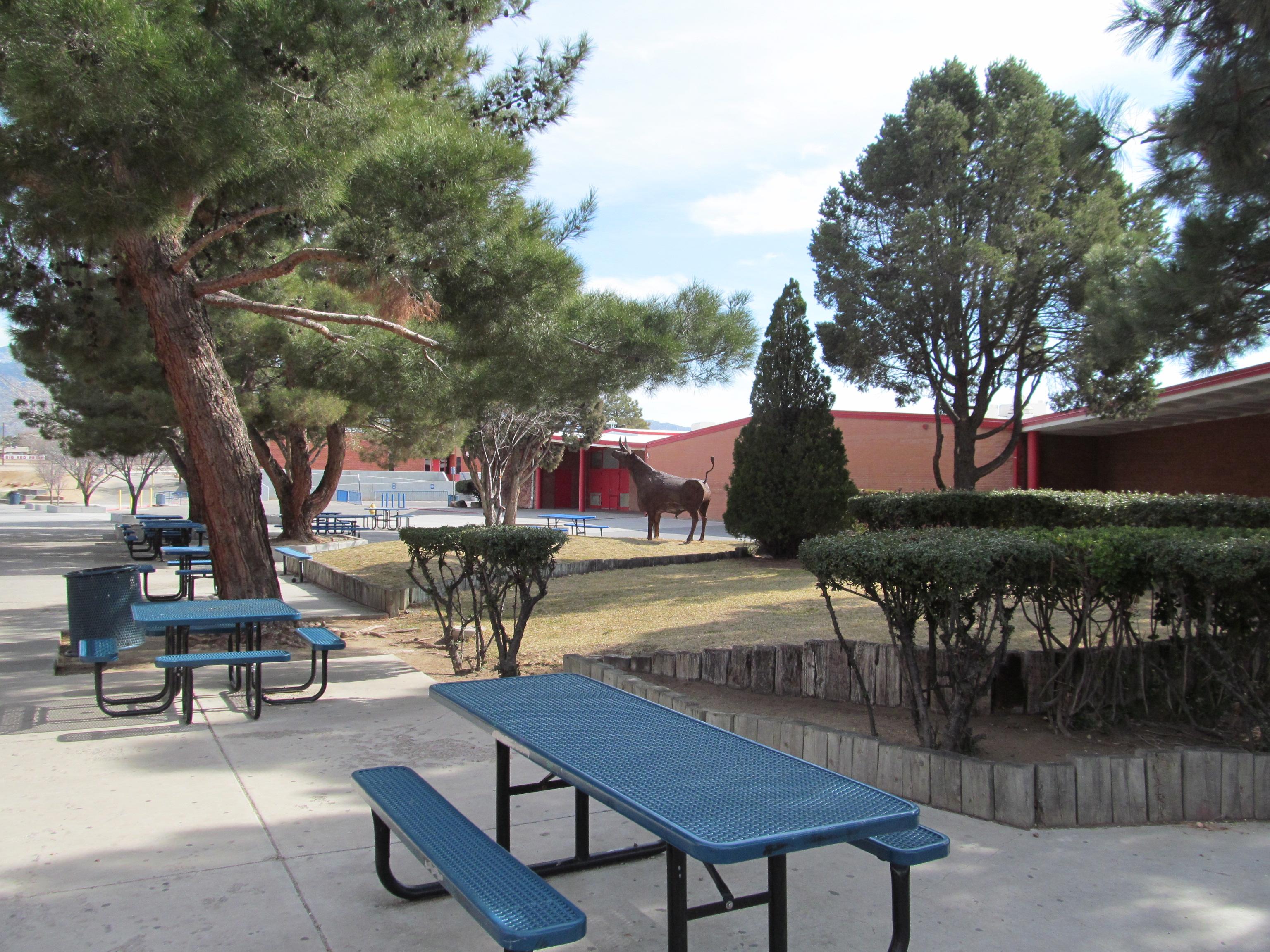 FileSandia High School courtyard Albuquerque NMjpg