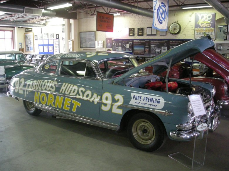 File:Ypsilanti Automotive Heritage Museum August 2013 20 (1952 Hudson Hornet stock car).jpg ...