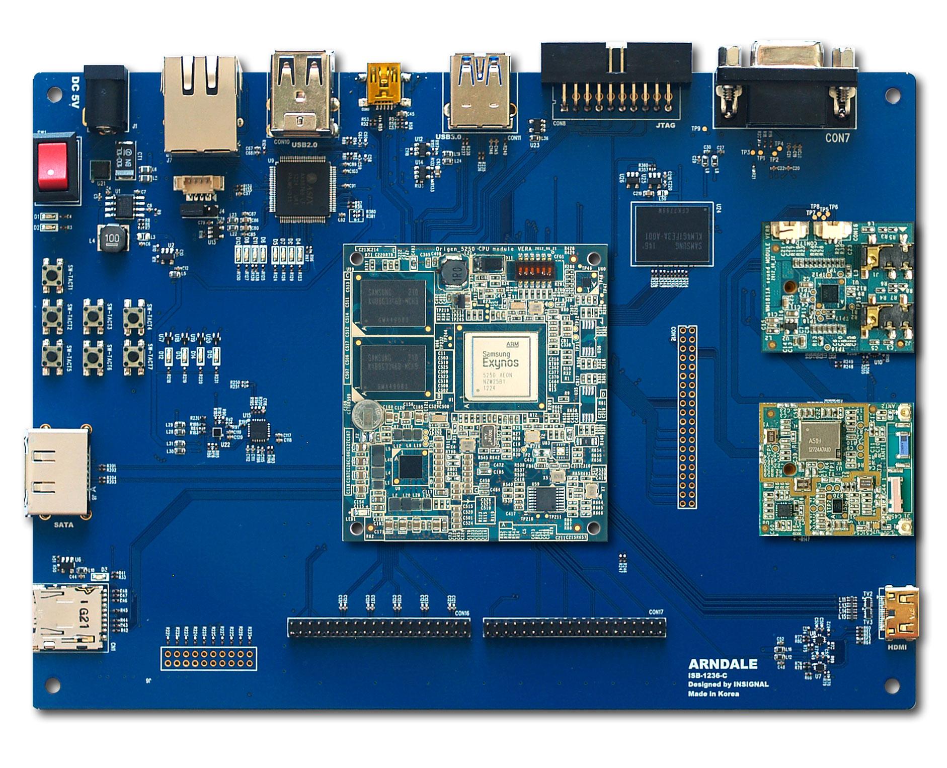 hight resolution of  cortex development board by wikimedia