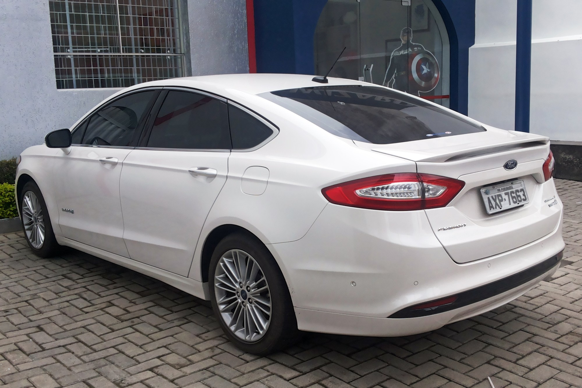 hight resolution of ford fusion hybrid