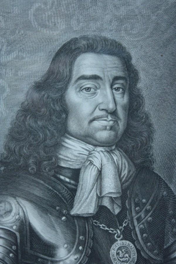 File General Monck Engraved David Loggan 1661