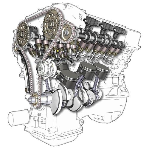 small resolution of v6 engine