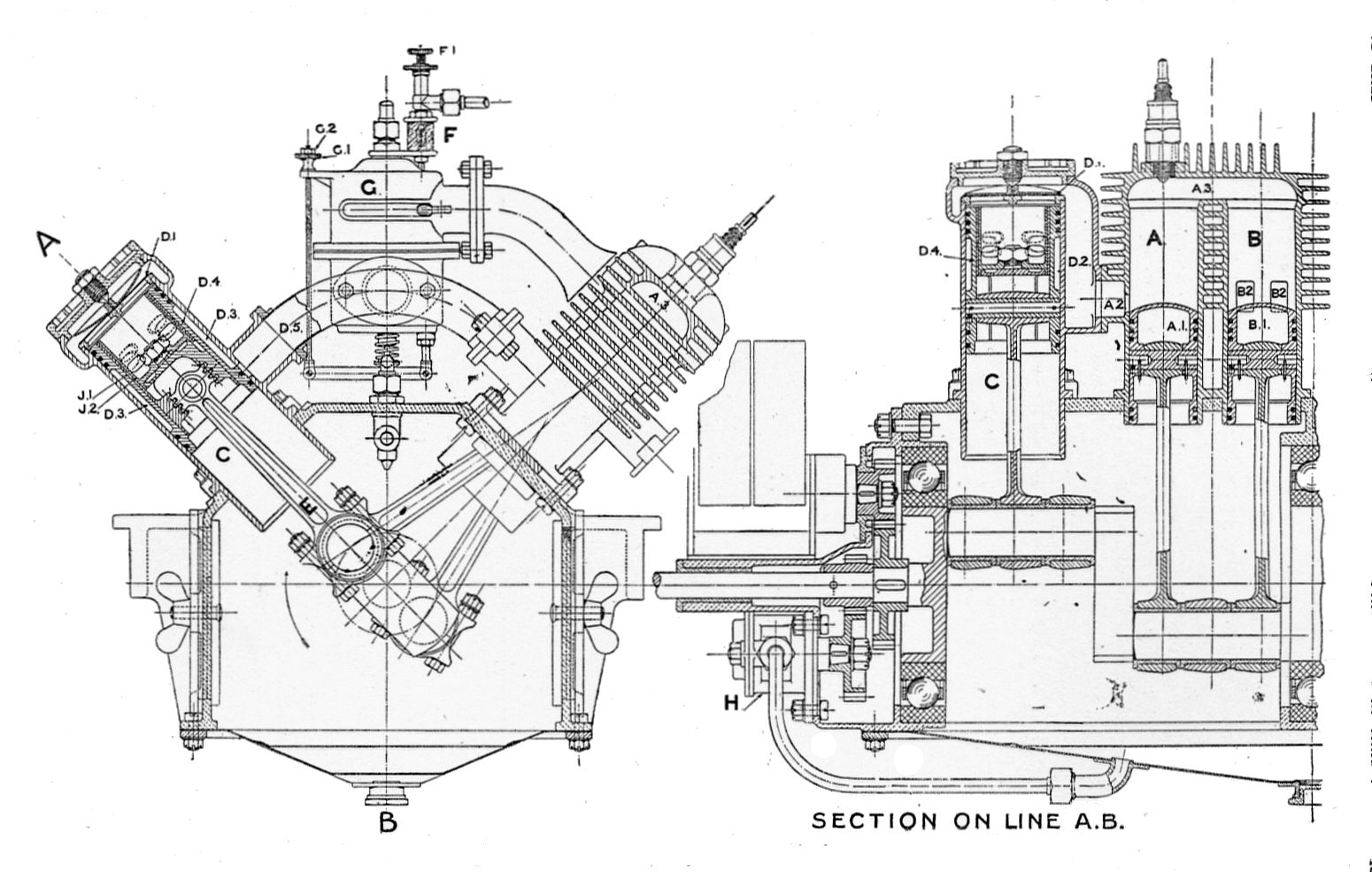 hight resolution of file lamplough s two stroke engine section rankin kennedy modern engines