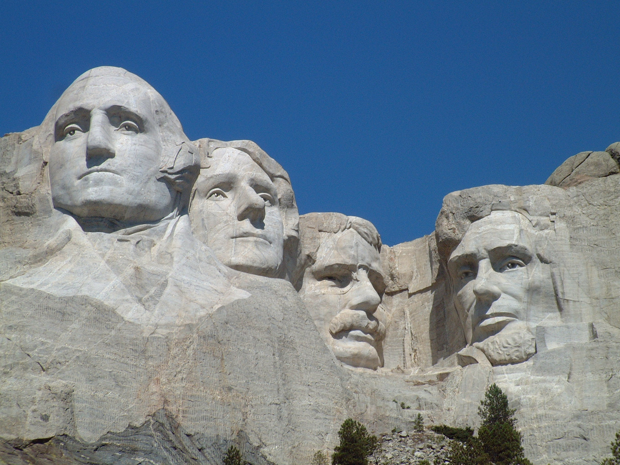 Carved By Dynamite Massive Founding Fathers At Mt