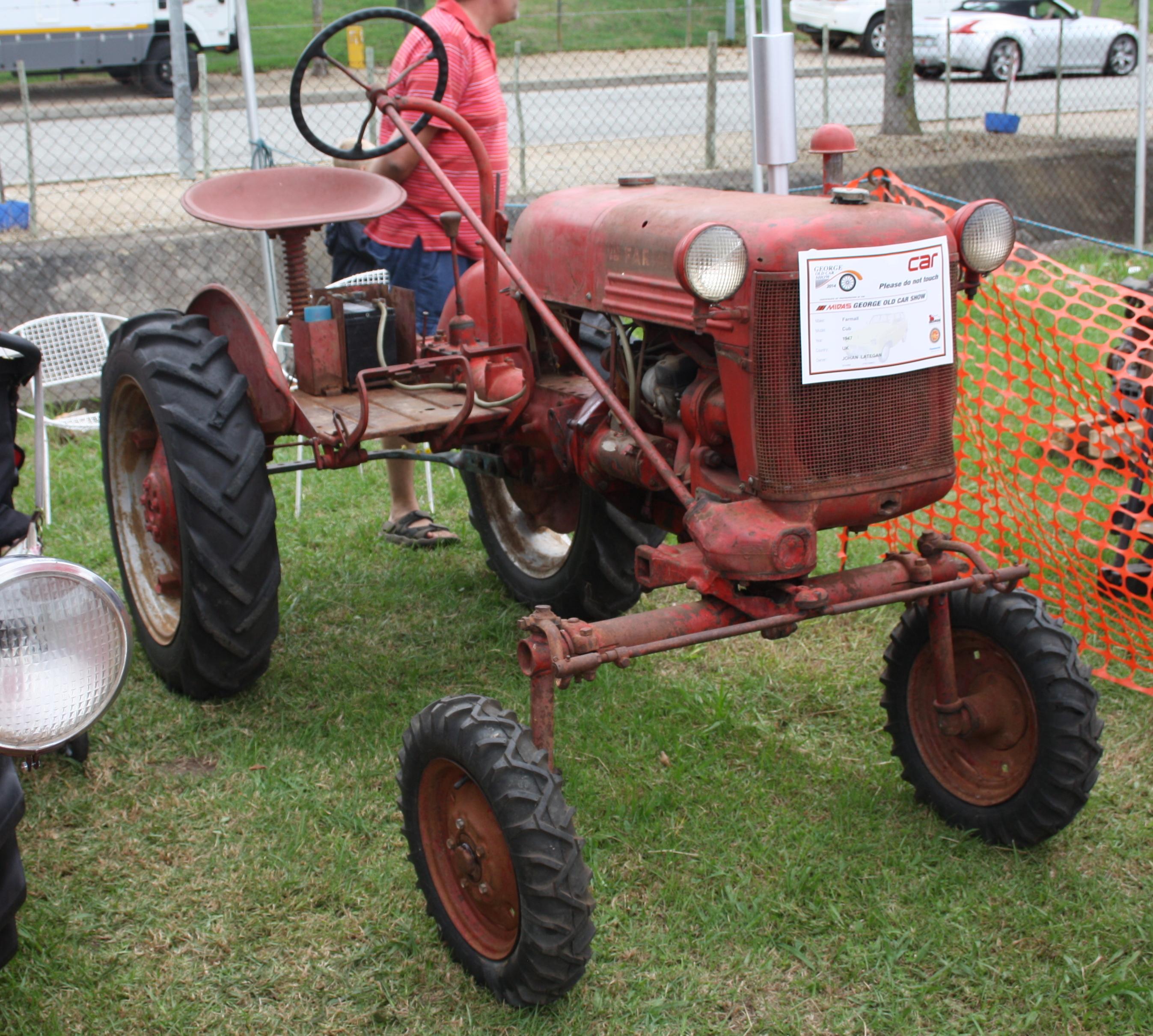 International Cub Tractor Wiring
