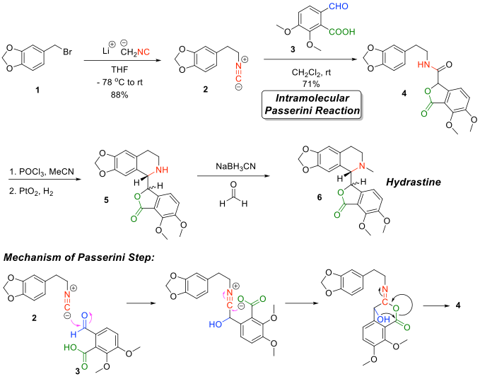 File:Falck's total synthesis of hydrastine, the mechanism