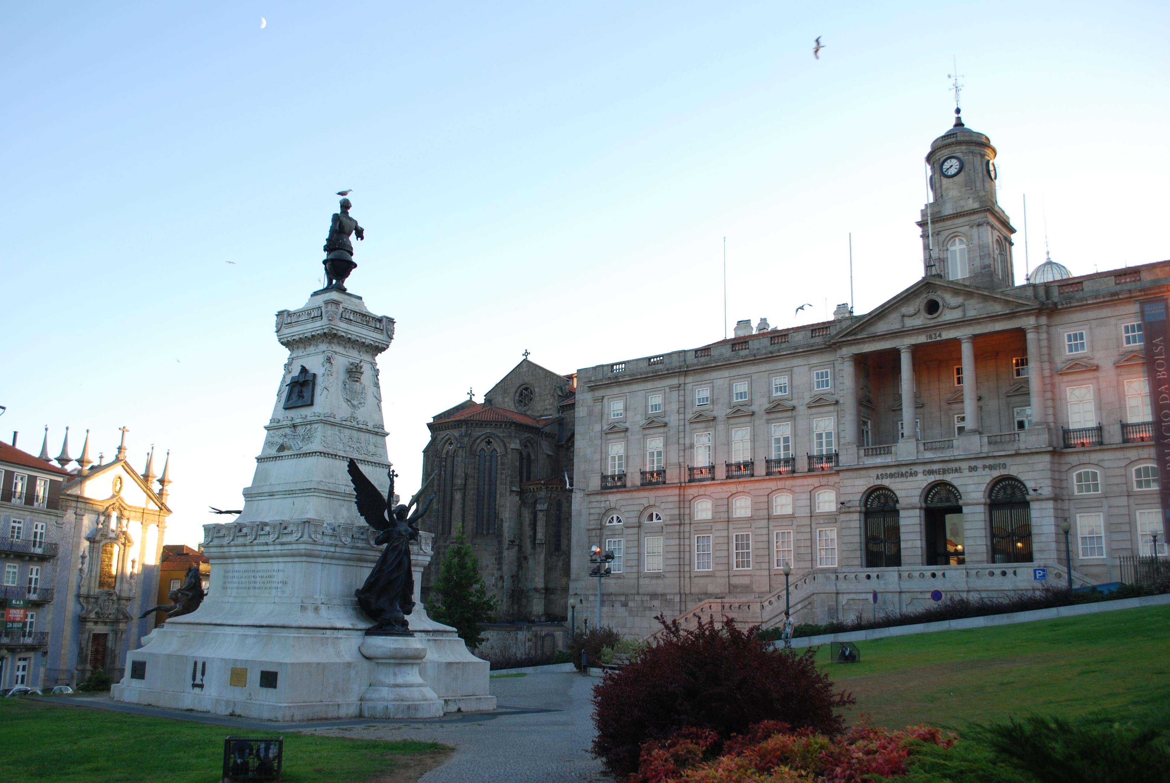 Palácio da Bolsa - fachada