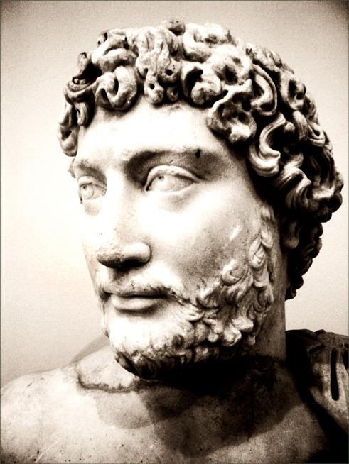 Busto de Adriano, Museo Arqueológico Nacional de Atenas (Grecia).