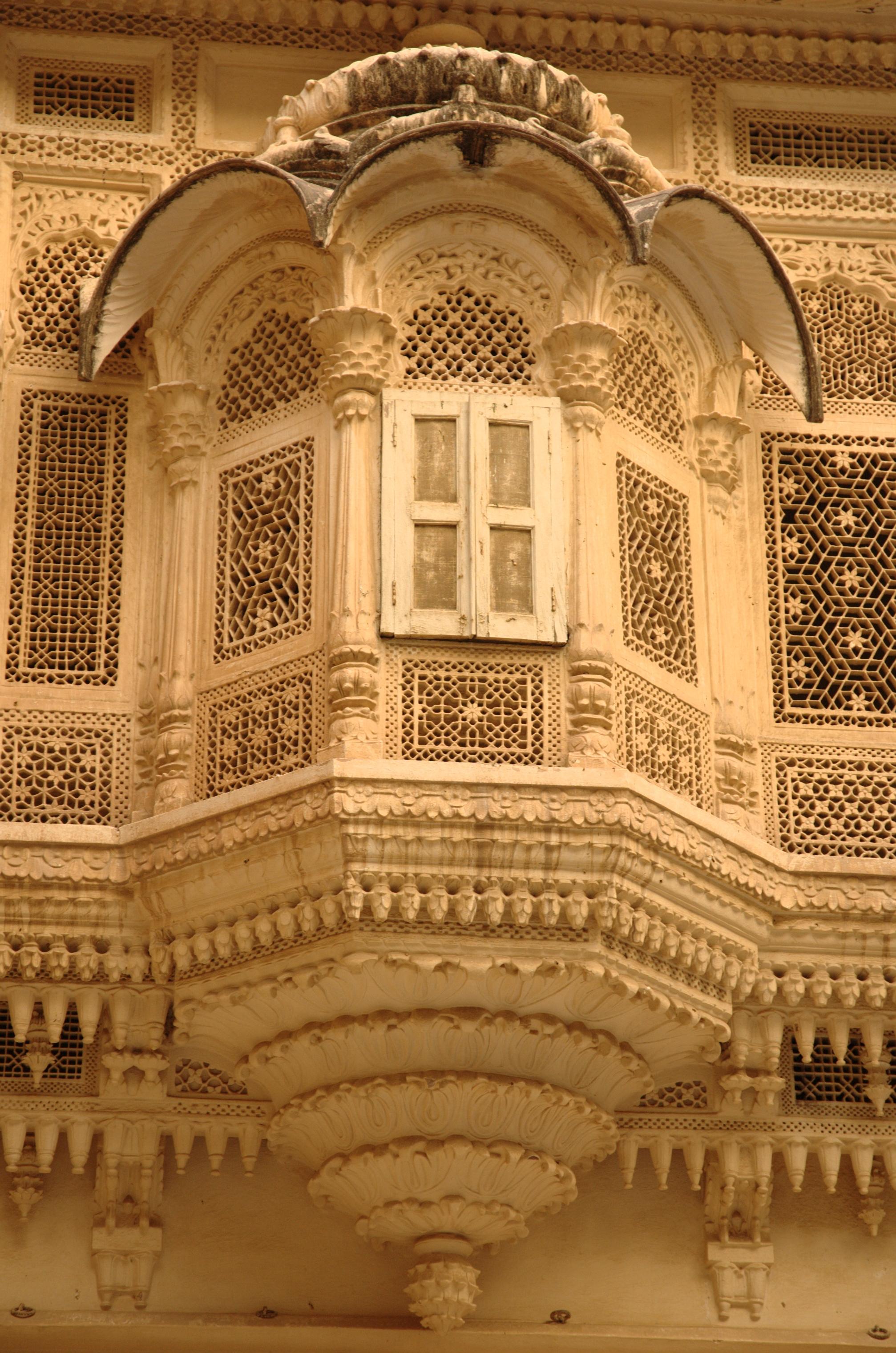 FileCarved balcony Mehrangarh Fortjpg  Wikimedia Commons