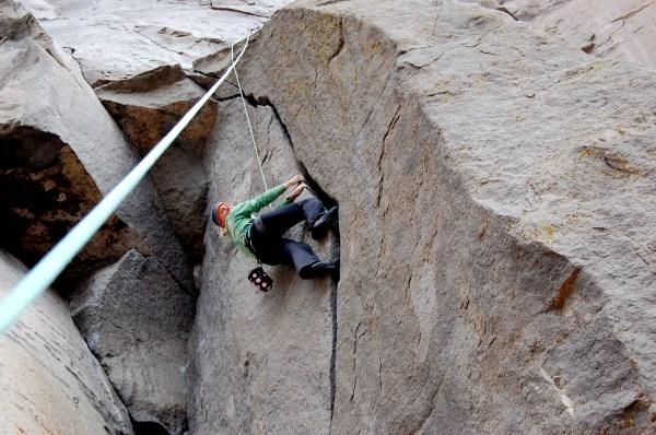 File Crack Climbing Layback - Wikimedia Commons