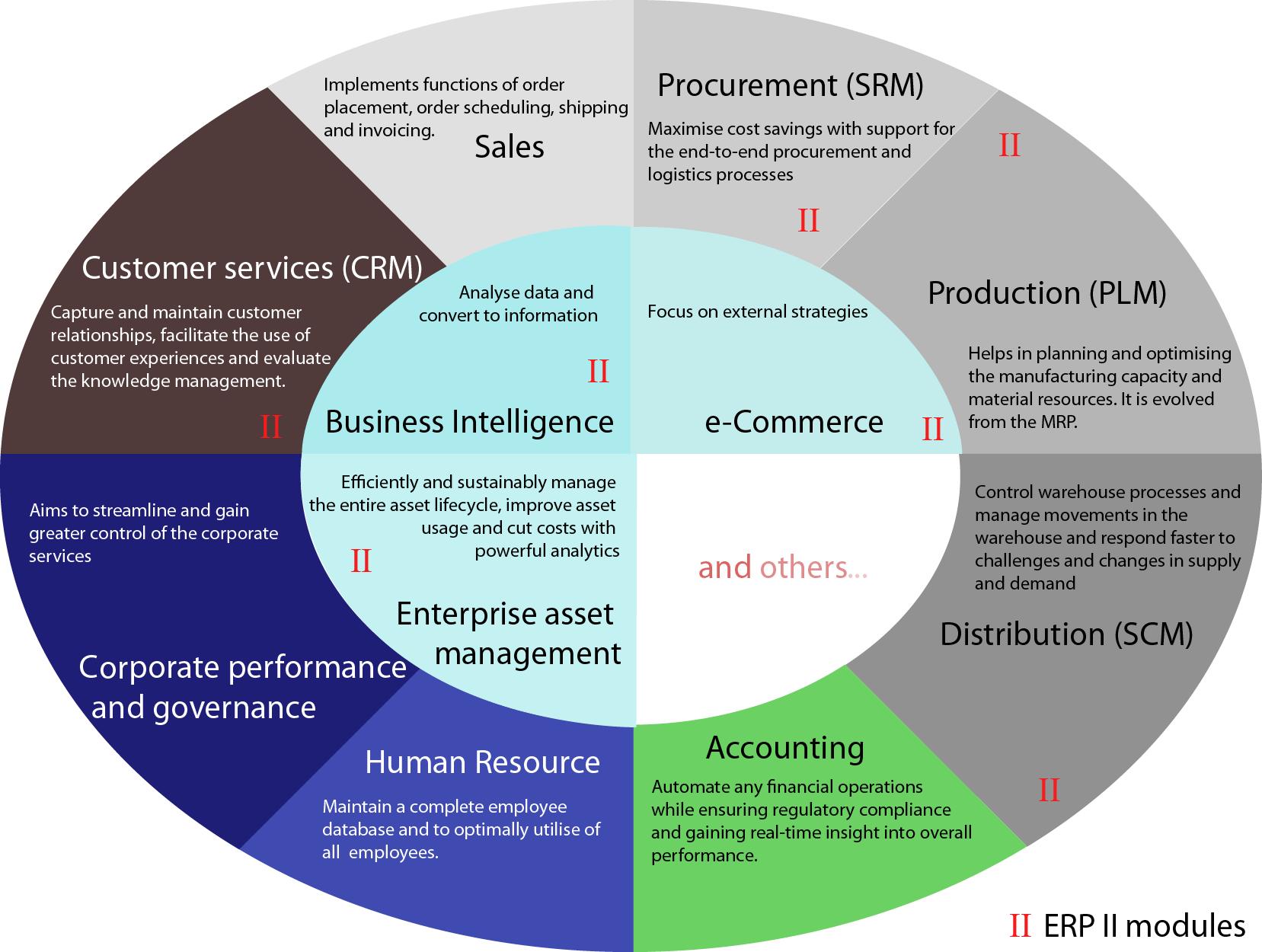 hight resolution of enterprise resource planning