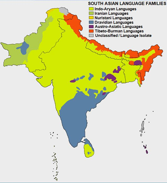 Languages Of India Wikipedia