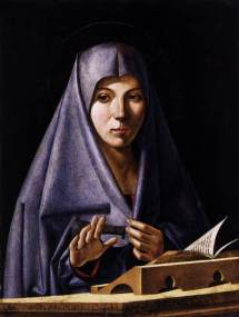 Antonello Da Messina Virgin Annunciate