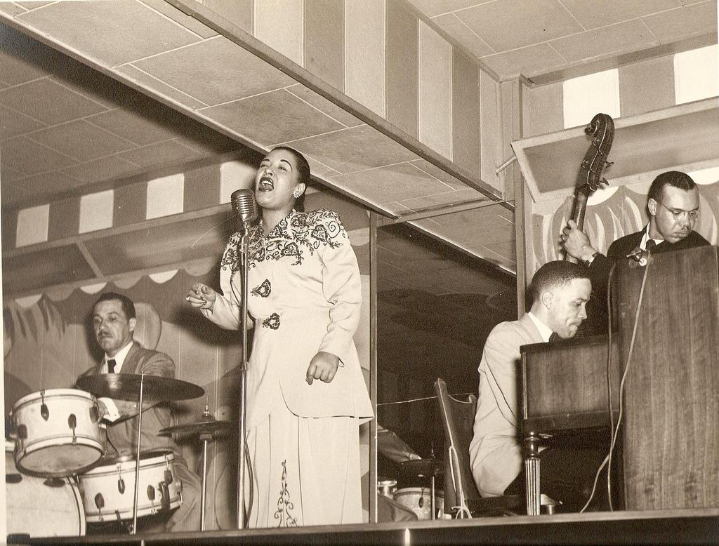 Billie Holiday Spreadin Rhythm Around Brunswick 78