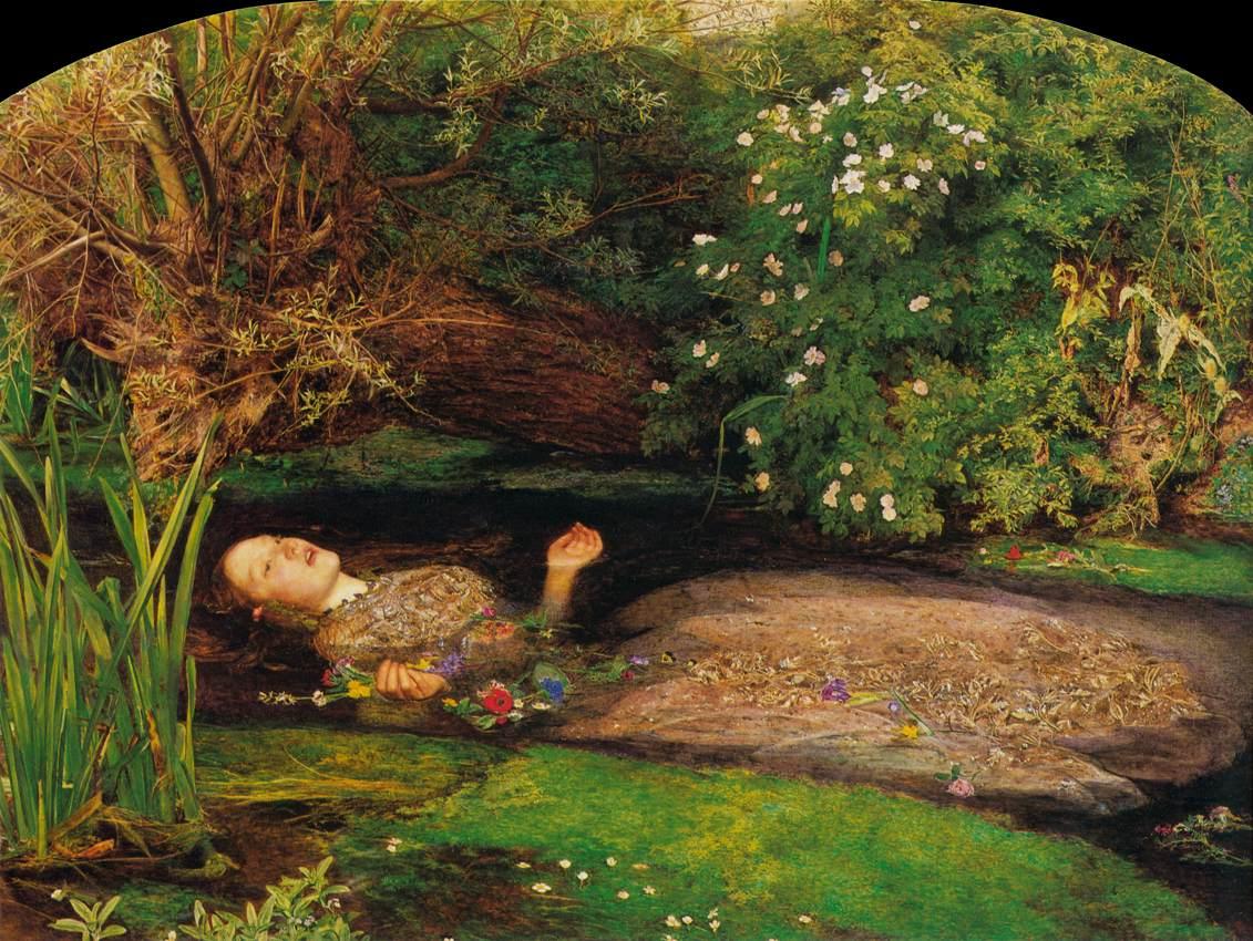 John Everett Millais - Ophelia - WGA15685