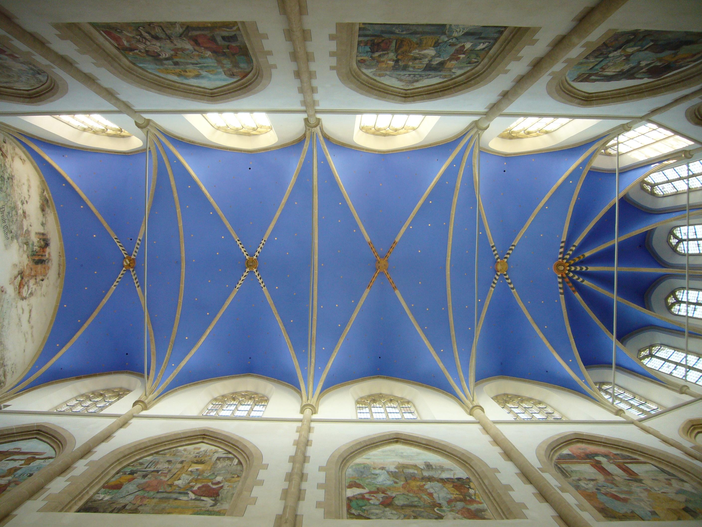 Gerestaureerd plafond