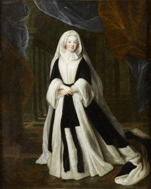 Louise Francoise de Bourbon as widow - Musée Condé.jpg