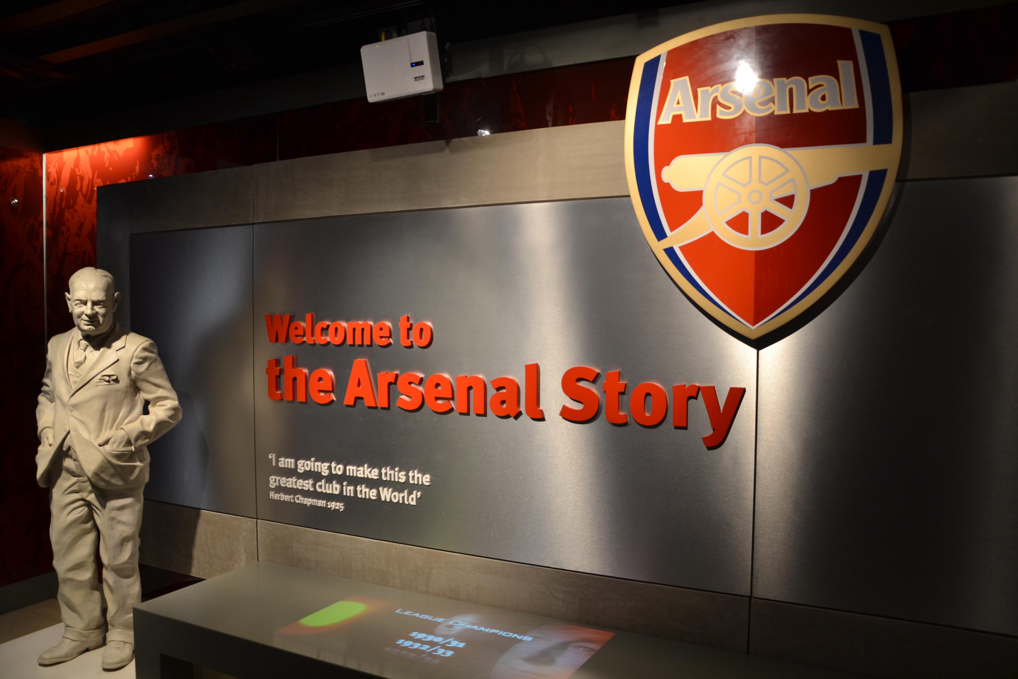 arsenal football club museum wikipedia
