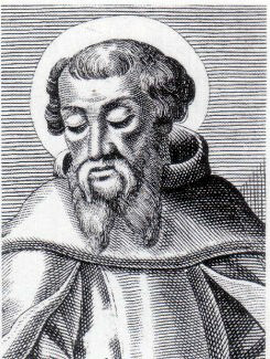 An engraving of St Irenaeus, Bishop of Lugdunum