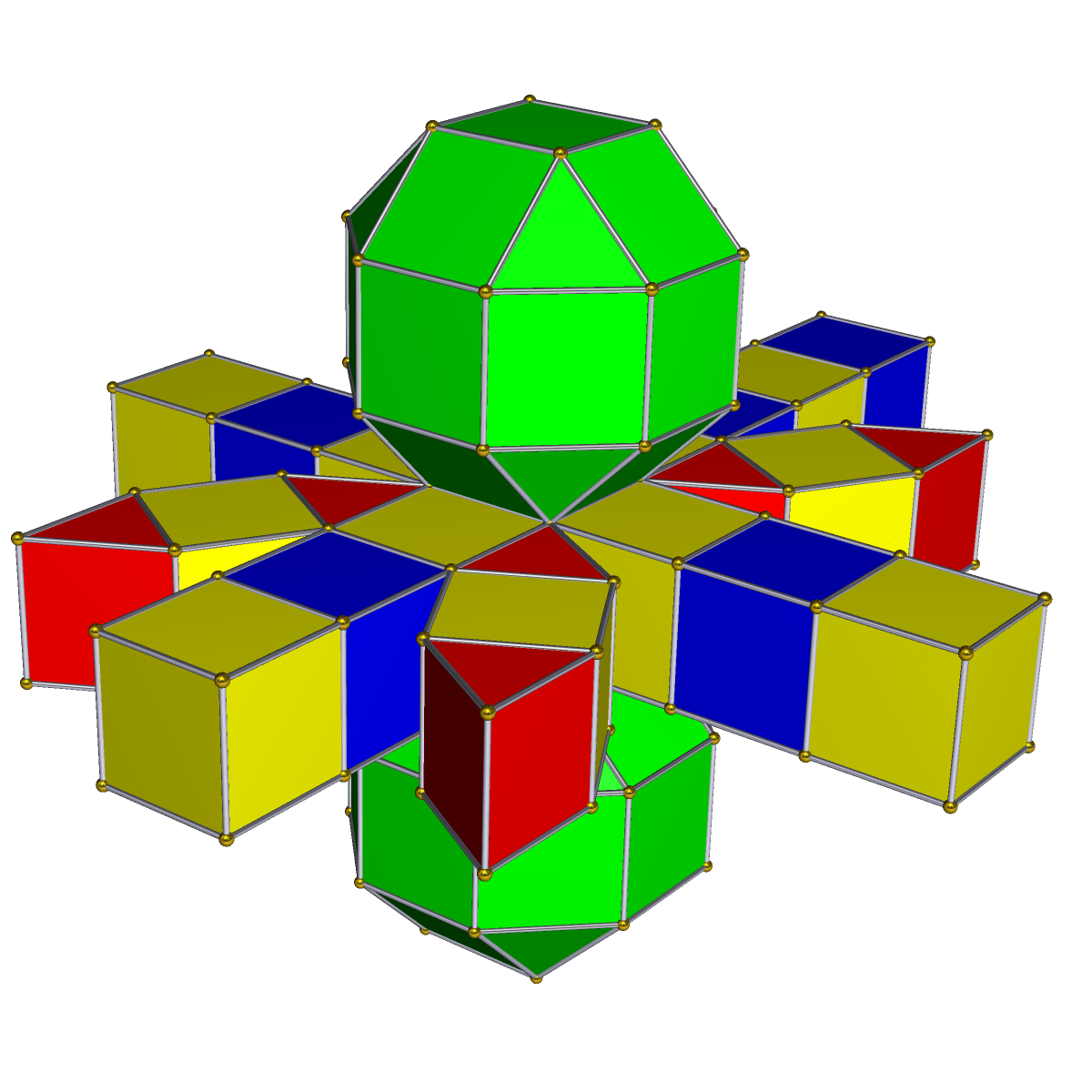 net diagram of triangular prism rotronics dual battery system wiring rhombicuboctahedral wikipedia