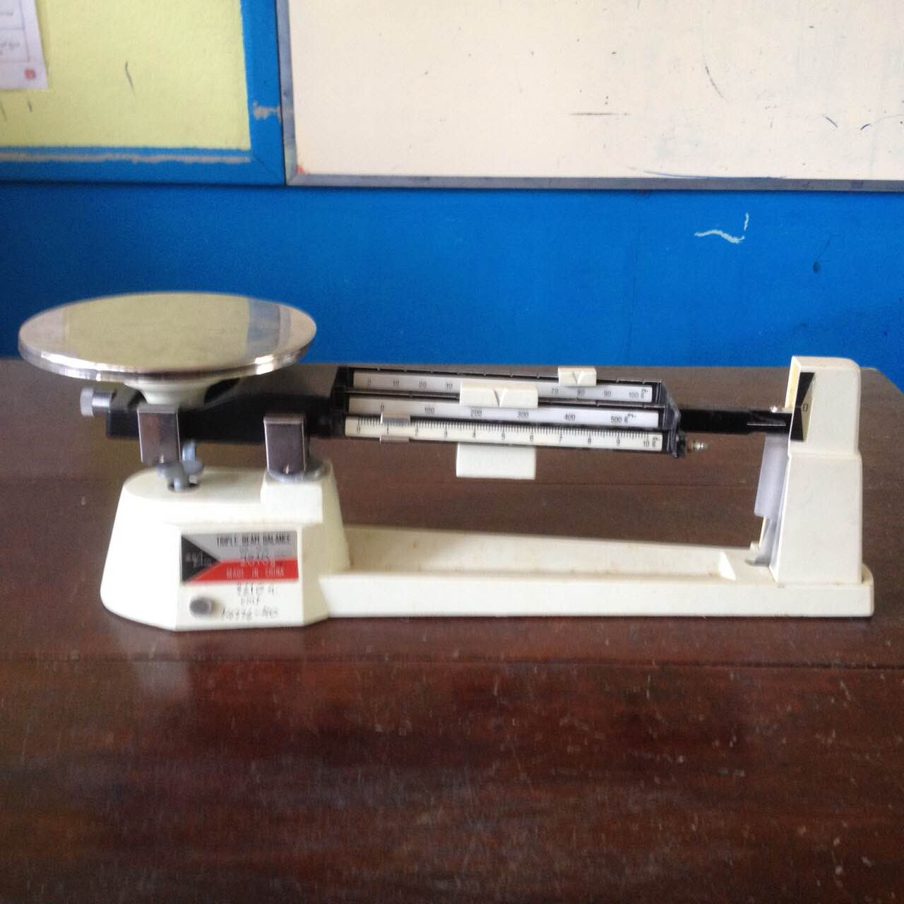 hight resolution of triple beam balance