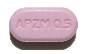 Alprazolam Xanax ®, Prazin ® برازيلي، رينالدو أو رونالدو