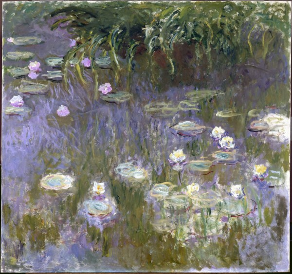 Claude Monet Water Lilies Painting