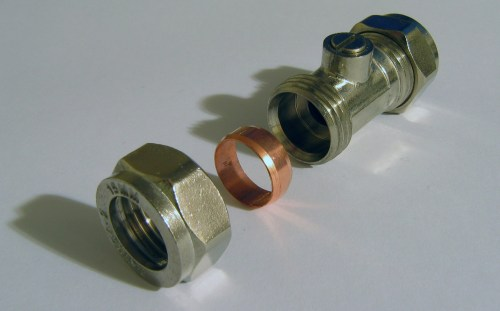 small resolution of compression fitting