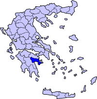 Map of Argolis