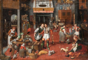 File:Marten van Cleve attributed to his studio? Kitchen interior Google Art Project jpg Wikimedia Commons