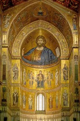 medieval church byzantine western mosaic cathedral mosaics religion byzantium