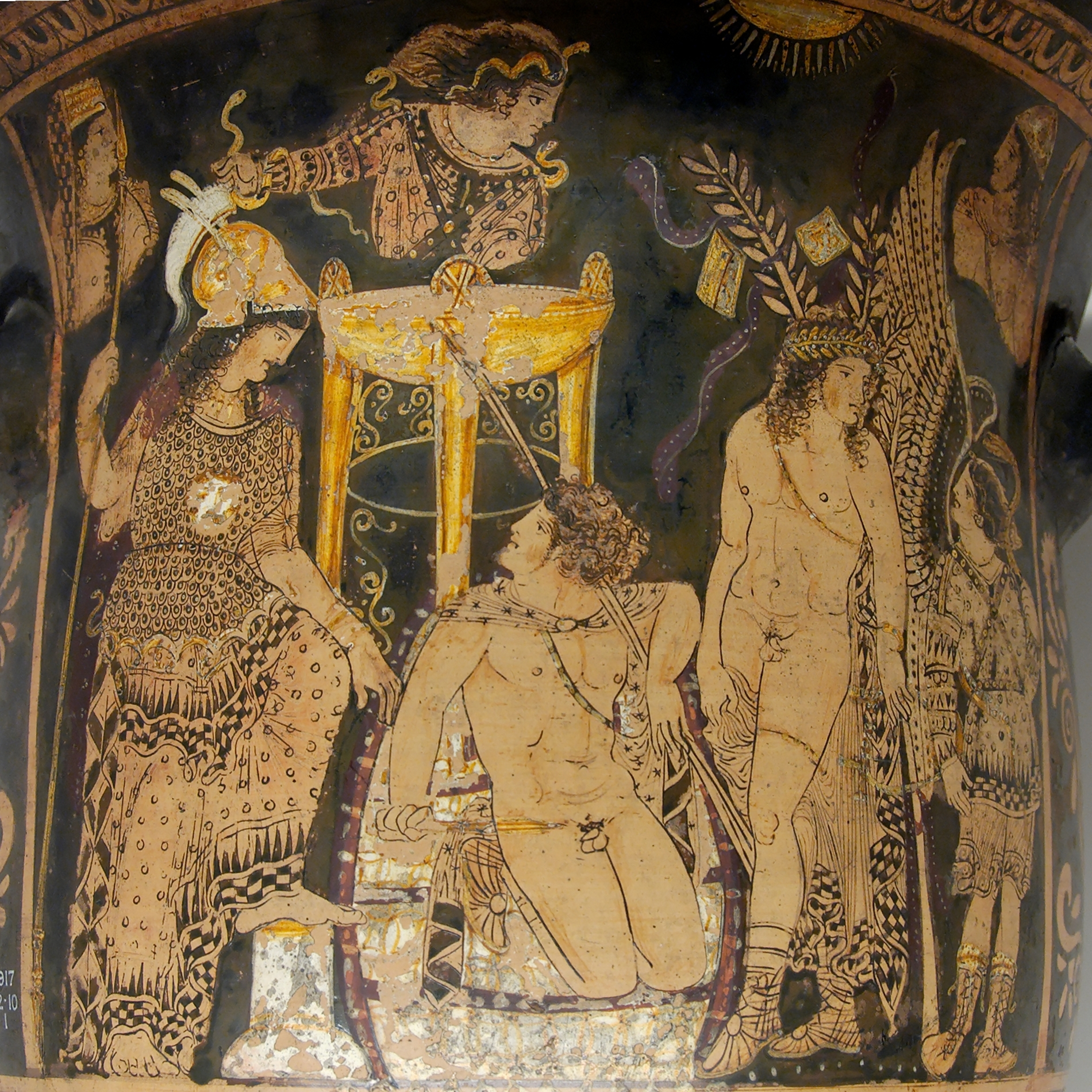 The Legendary Furies Of Ancient Greek Mythology
