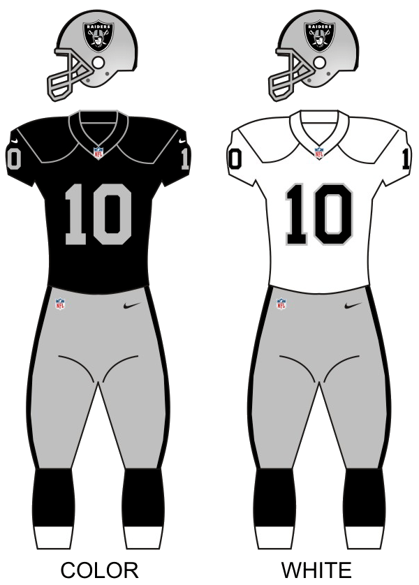 Oakland Raiders Wikipedia La Enciclopedia Libre