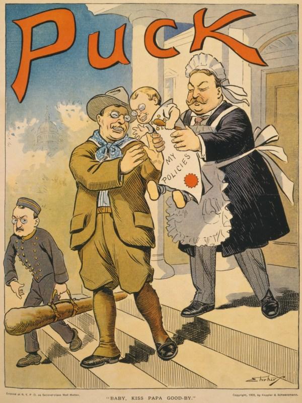 William Taft Political Cartoon