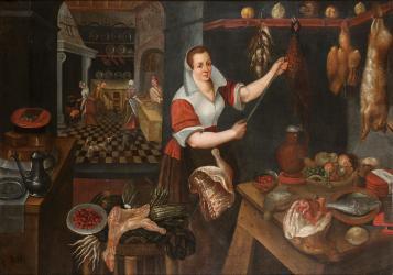 Medieval Kitchen Concept Art 2
