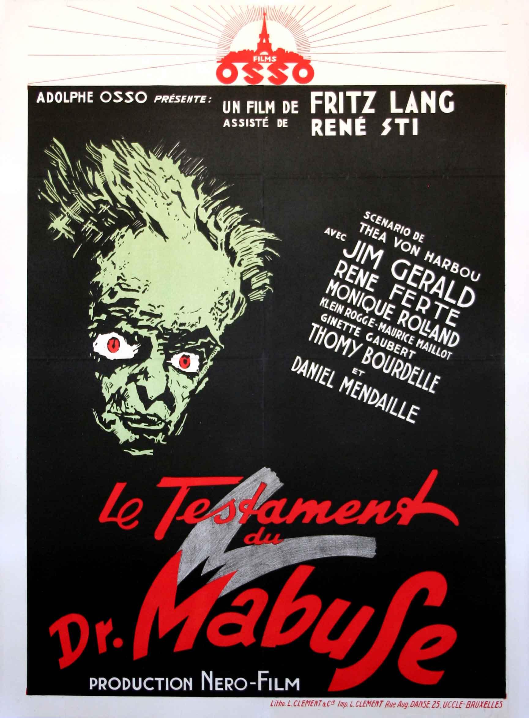 Le Testament Du Docteur Mabuse : testament, docteur, mabuse, File:Le, Testament, Mabuse.jpg, Wikimedia, Commons