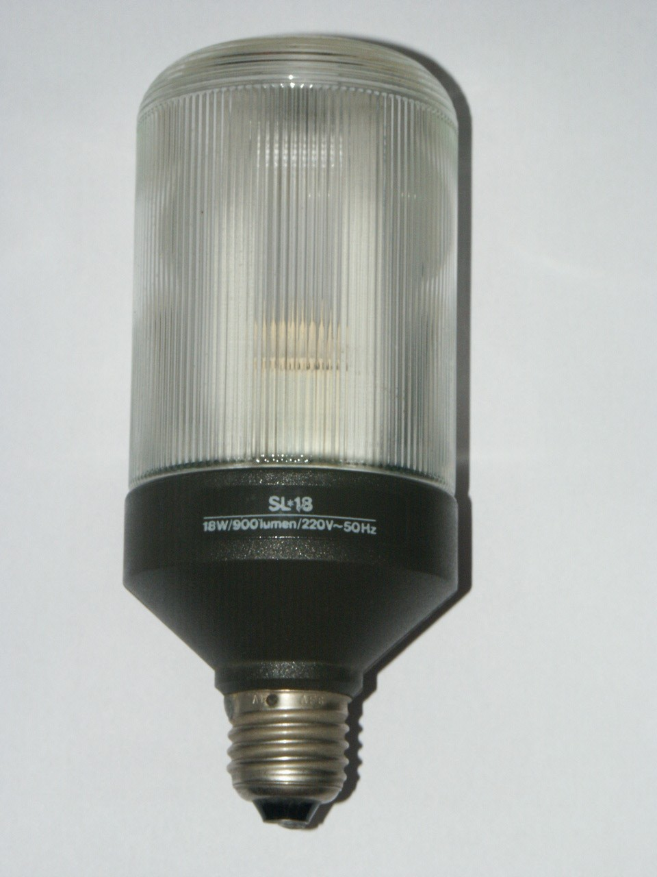 Compact Fluorescent Bulb with Plastic Shield