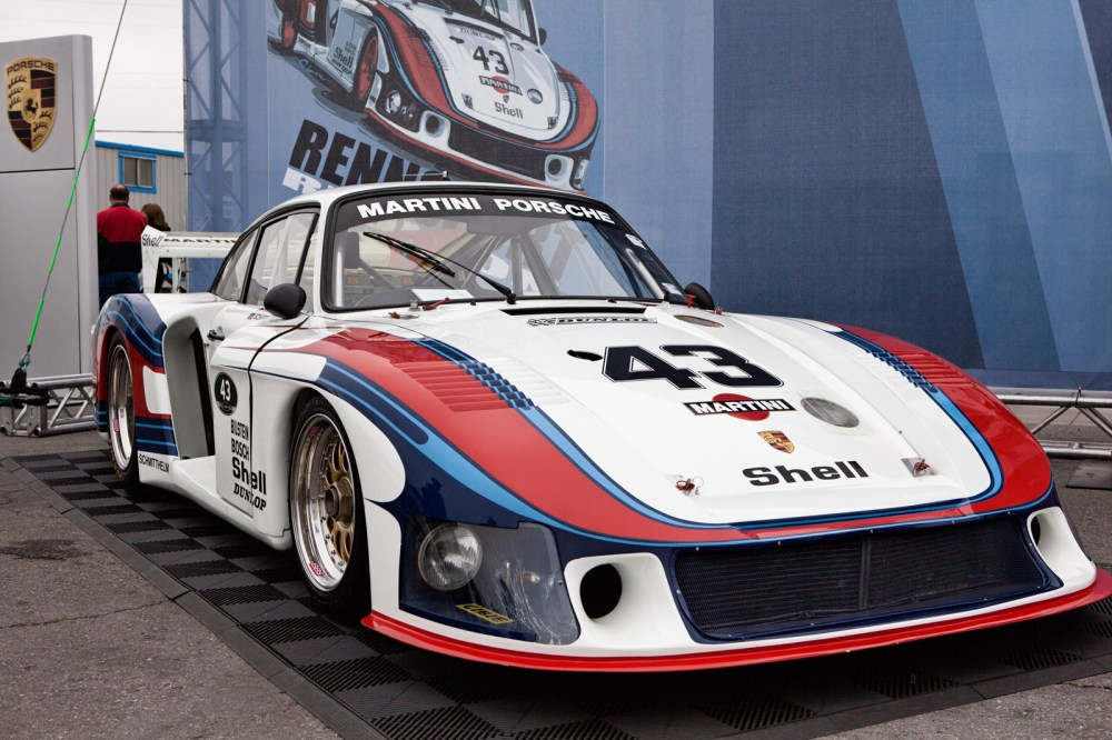 medium resolution of the original porsche 935 78 moby dick in martini racing livery at the porsche rennsport reunion iv