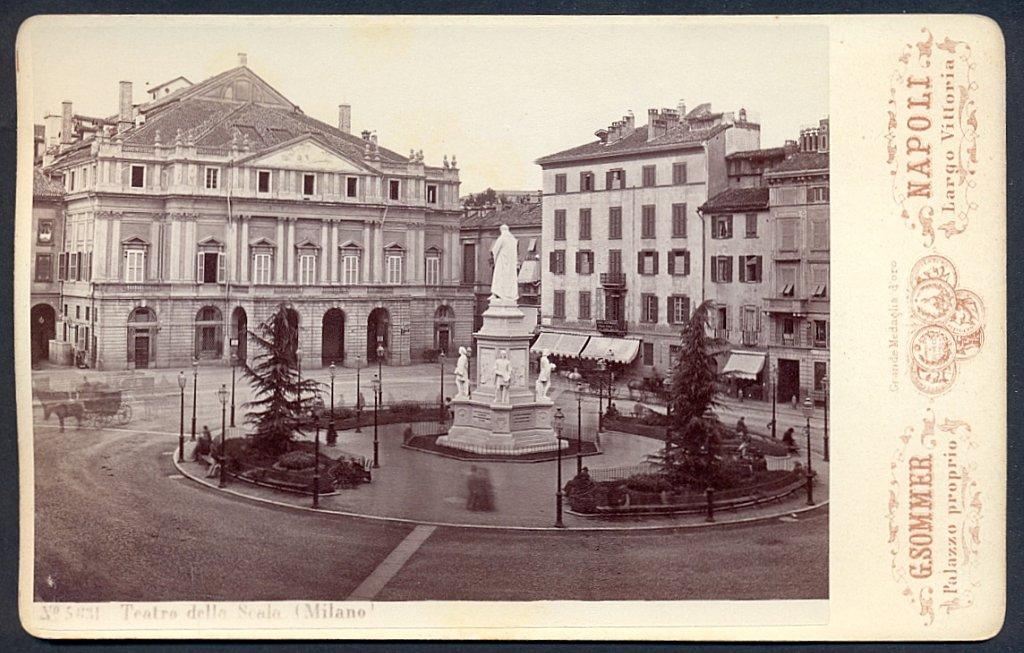 Sommer, Giorgio (1834-1914) ? n. 5831 Teatro della Scala (Mediolan)