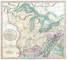 File 1805 Cary Map Of The Great Lakes And Western Territory Kentucy Virginia Ohio Etc Geographicus Westernterritory Cary 1805 Jpg Wikimedia Commons
