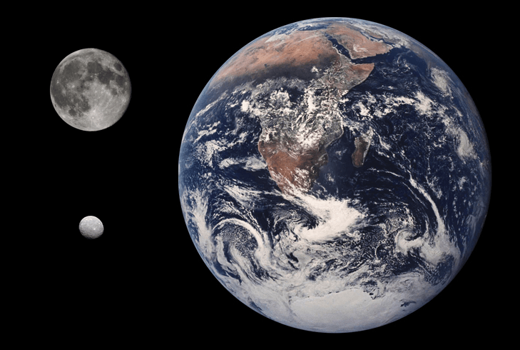 Archivo:Ceres Earth Moon Comparison.png
