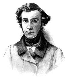 Photogravure of Charles Alexis Henri Clérel de...