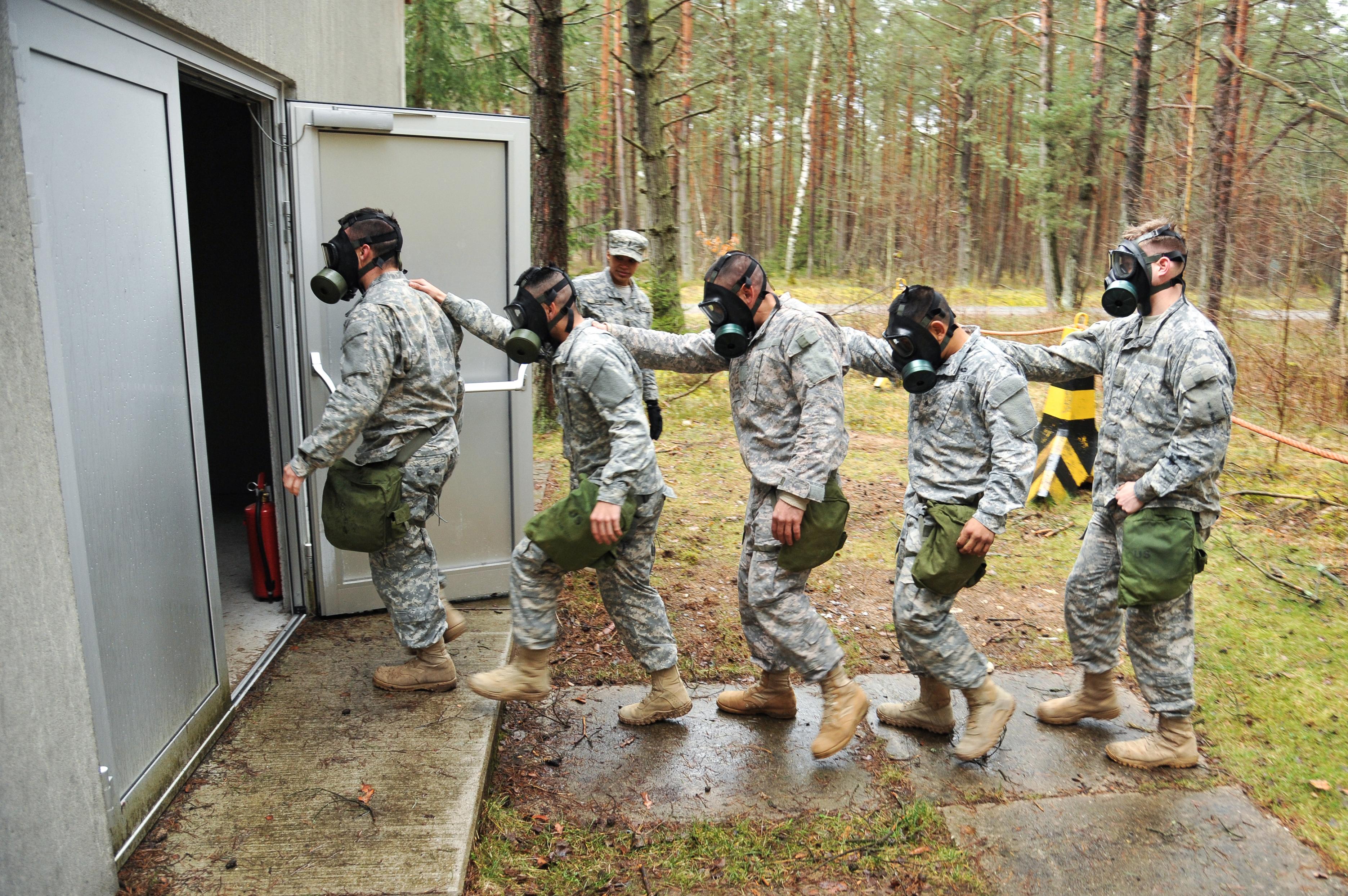 Army Training Army Training Gas Chamber
