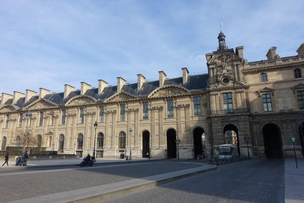File South Facade Of Aile De Rohan Louvre 27 February