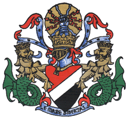 The coat of arms of the Principality of Sealan...