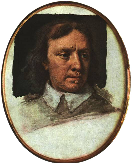 Photo of Unfinished portrait miniature of Oliver Cromwell by Samuel Cooper Public Domain [Wikipedia]